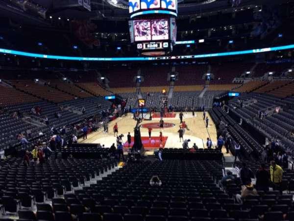 Scotiabank Arena, secção: 113, fila: 20, lugar: 13