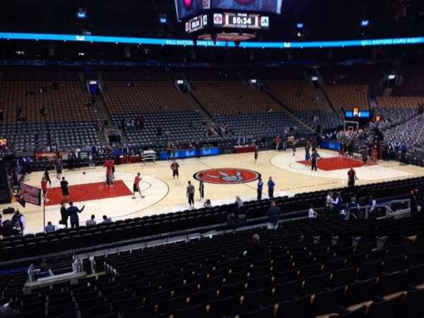 Scotiabank Arena, secção: 109, fila: 20, lugar: 11