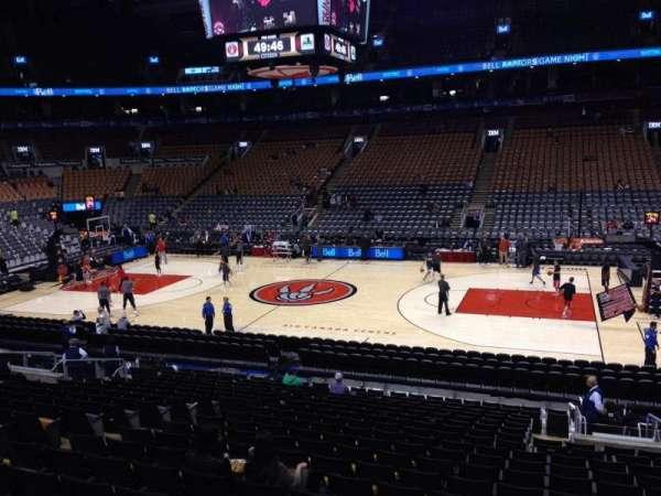 Scotiabank Arena, secção: 107, fila: 20, lugar: 11