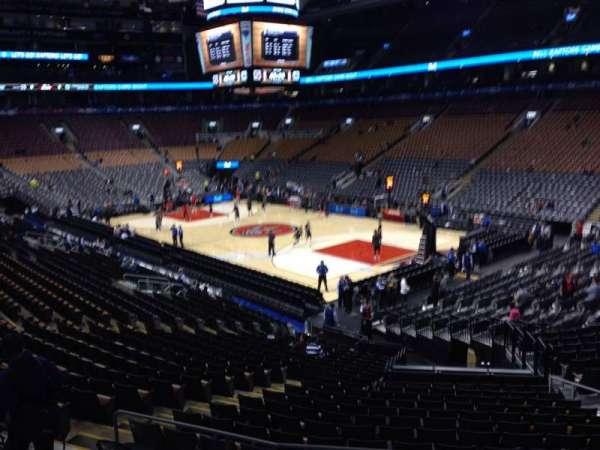Scotiabank Arena, secção: 105, fila: 23, lugar: 12