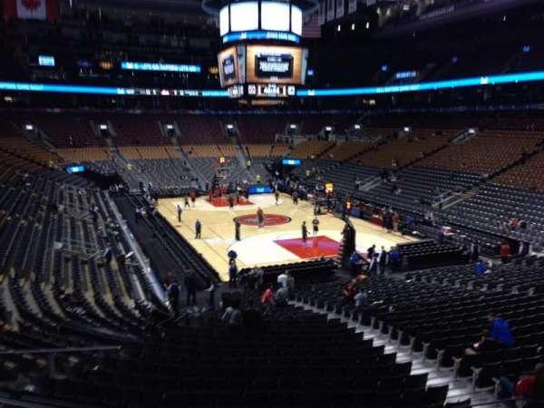 Scotiabank Arena, secção: 104, fila: 25, lugar: 9