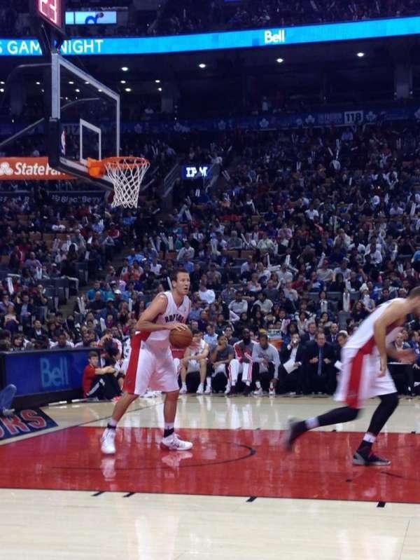 Scotiabank Arena, secção: CRTS, fila: B, lugar: 53