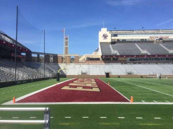 Alumni Stadium, secção: P, fila: 4, lugar: 40