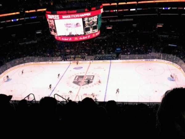 Staples Center, secção: 317, fila: 10, lugar: 7