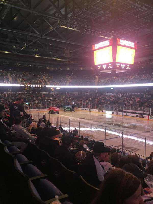Toyota Arena, secção: 102, fila: O, lugar: 12