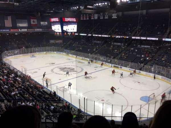 Toyota Arena, secção: 212, fila: F, lugar: 21