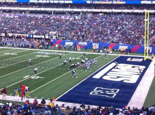 Metlife Stadium, secção: 133, fila: 34