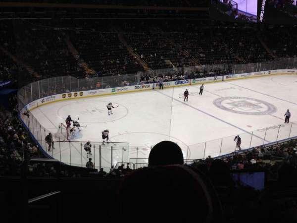 Madison Square Garden, secção: 221, fila: 5, lugar: 1