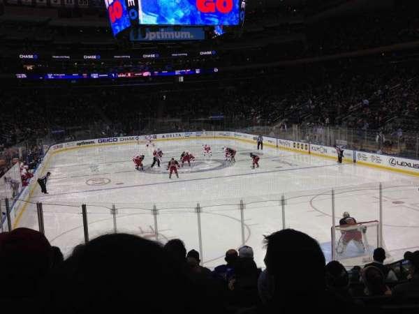Madison Square Garden, secção: 111, fila: 13, lugar: 14