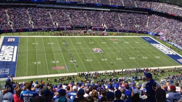 MetLife Stadium, secção: 316, fila: 22, lugar: 17