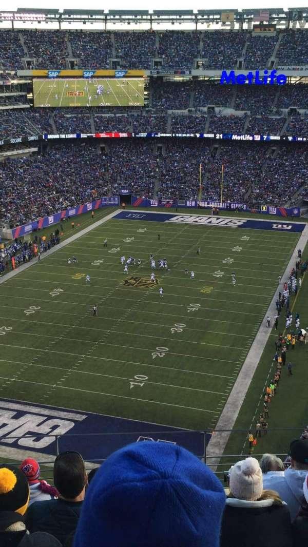 MetLife Stadium, secção: 348, fila: 11, lugar: 14