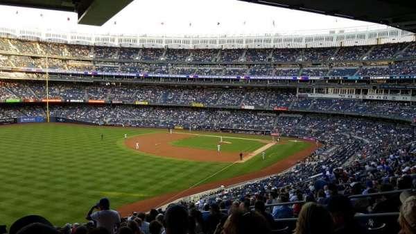 Yankee Stadium, secção: 232A, fila: 21, lugar: 9