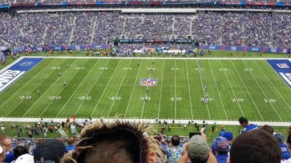 MetLife Stadium, secção: 338, fila: 12, lugar: 12