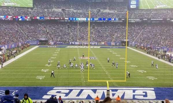 MetLife Stadium, secção: 126, fila: 37, lugar: 25
