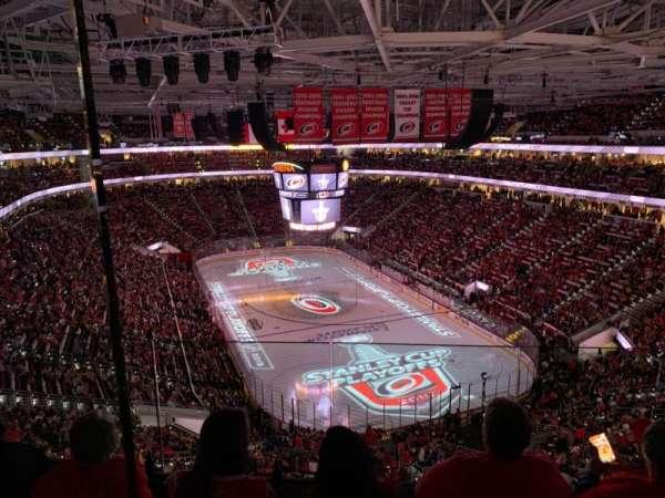 PNC Arena, secção: 316, fila: D, lugar: 11