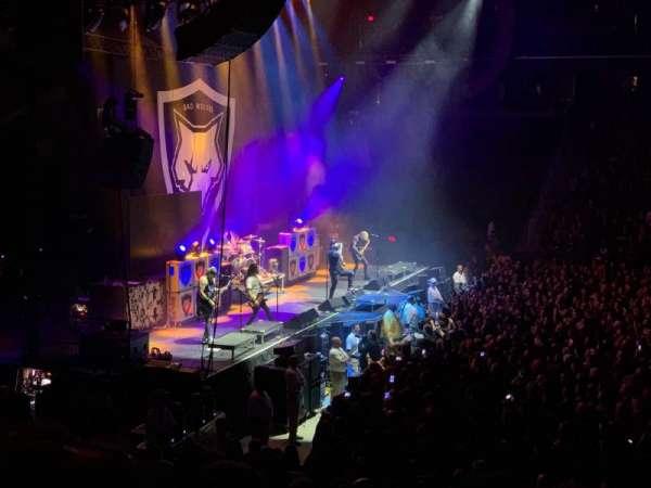 Greensboro Coliseum, secção: 108, fila: PP, lugar: 13