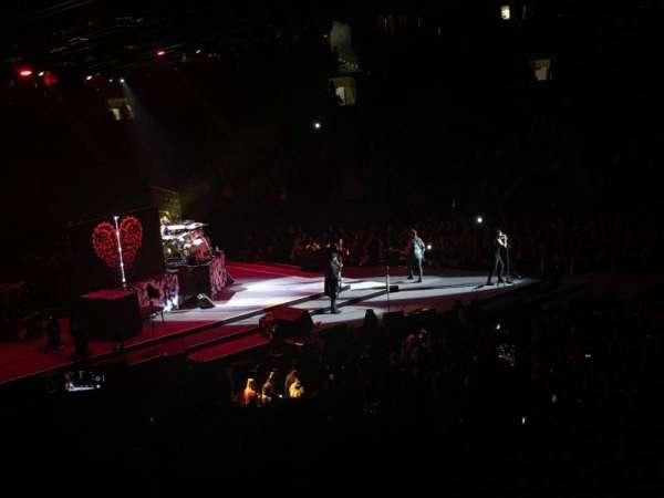 Madison Square Garden, secção: 116, fila: 20, lugar: 3