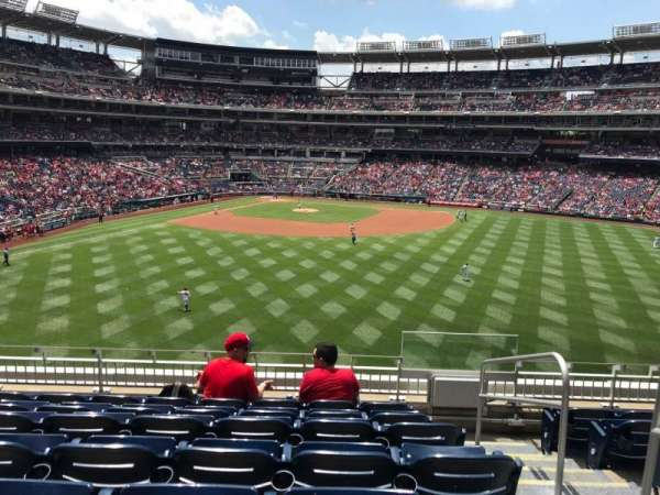 Nationals Park, secção: 241, fila: G, lugar: 2
