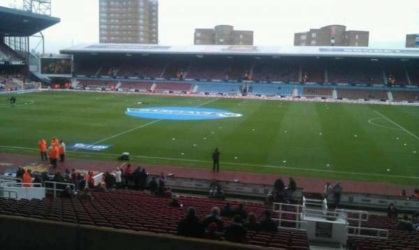 Boleyn Ground, secção: Main Stand Box