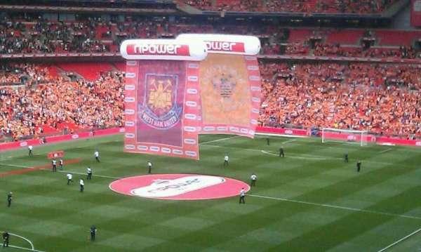 Wembley Stadium, secção: Pitch View Restaurant West