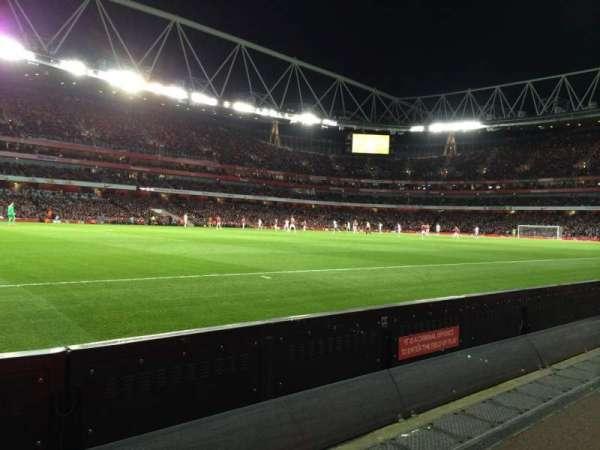 Emirates Stadium, secção: 20, fila: 1, lugar: 604