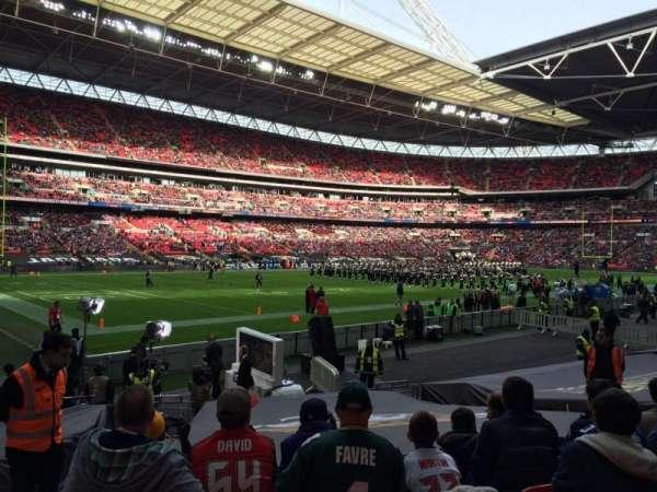Wembley Stadium, secção: 128, fila: 16, lugar: 150