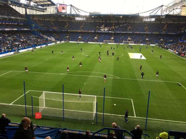Stamford Bridge, secção: Shed End Upper 4, fila: 11, lugar: 130