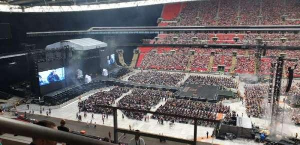 Wembley Stadium, secção: 526, fila: 10, lugar: 375