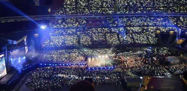 Wembley Stadium, secção: 527, fila: 33, lugar: 28