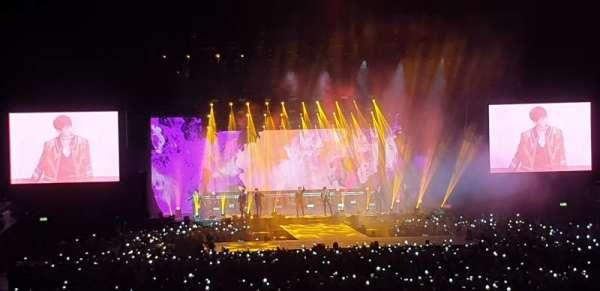 SSE Arena, Wembley, secção: E3, fila: K, lugar: 73