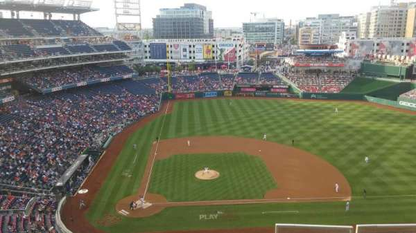 Nationals Park, secção: 417, fila: C, lugar: 1