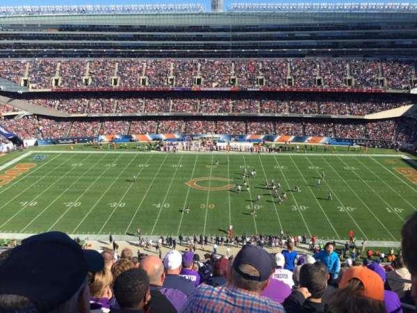 Soldier Field, secção: 437, fila: 14, lugar: 19