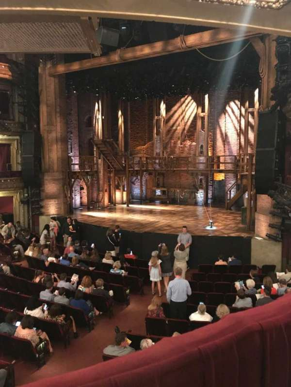 CIBC Theatre, secção: Director's Circle, fila: A, lugar: 2