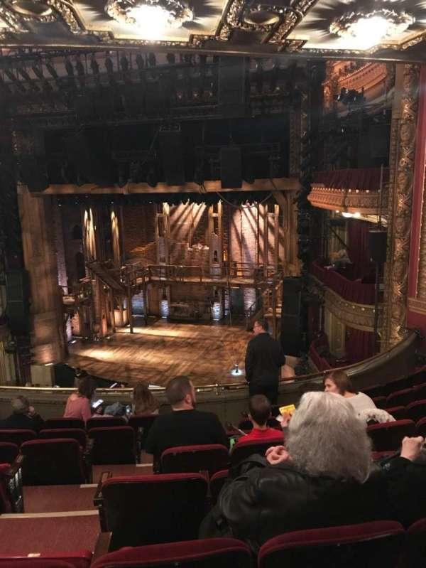 CIBC Theatre, secção: Mezzanine R, fila: H, lugar: 6