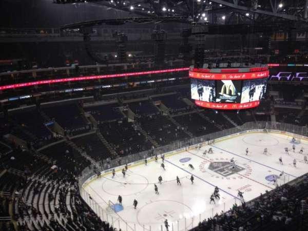 Staples Center, secção: 305, fila: 9, lugar: 7