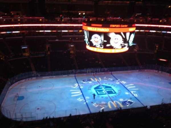 Staples Center, secção: 302, fila: 6, lugar: 22