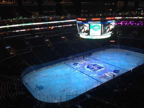Staples Center, secção: 305, fila: 6, lugar: 1