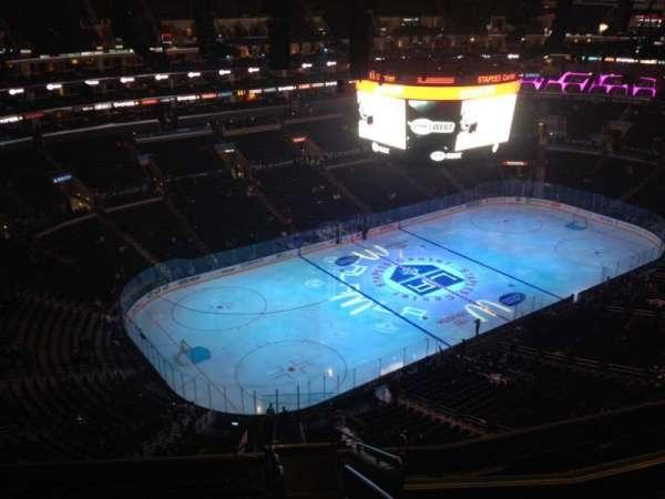 Staples Center, secção: 305, fila: 12, lugar: 1