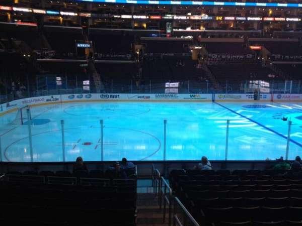 Staples Center, secção: 103, fila: 14, lugar: 1