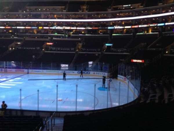 Staples Center, secção: 117, fila: 17, lugar: 32