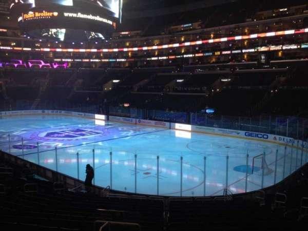 Staples Center, secção: 108, fila: 20, lugar: 15