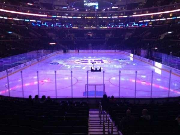 Staples Center, secção: 107, fila: 16, lugar: 1