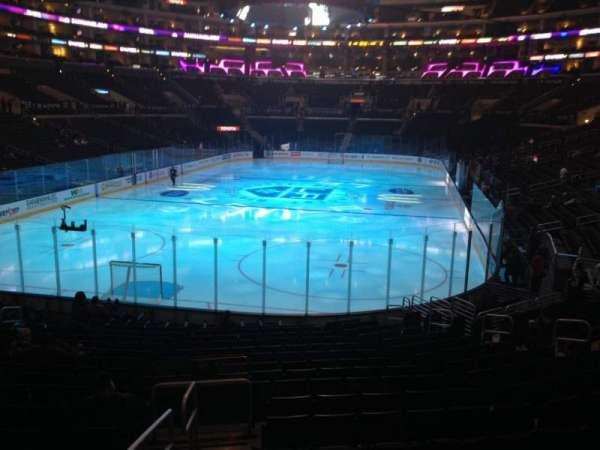 Staples Center, secção: 106, fila: 20, lugar: 17