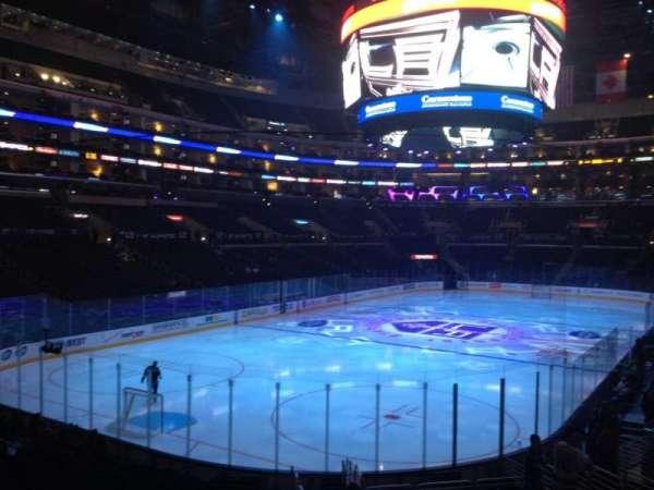 Staples Center, secção: 106, fila: 20, lugar: 1