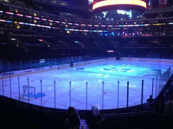 Staples Center, secção: 106, fila: 16, lugar: 1