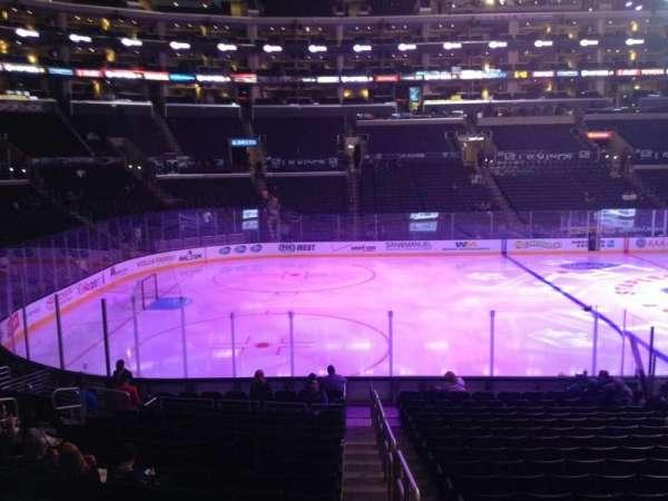 Staples Center, secção: 104, fila: 5, lugar: 1