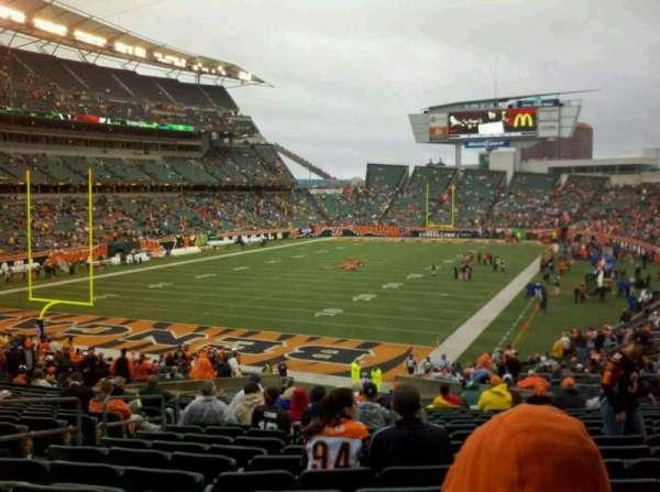 Paul Brown Stadium, secção: 120