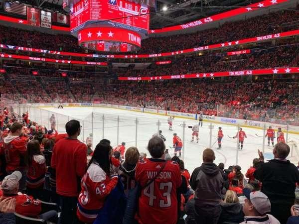 Capital One Arena, secção: 114, fila: M, lugar: 12