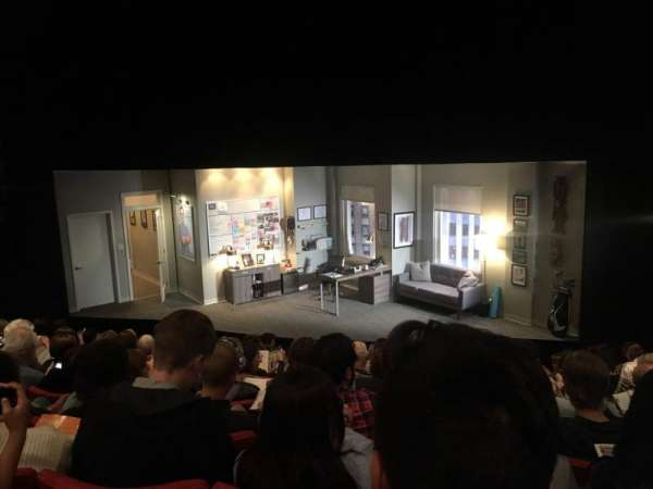 Kirk Douglas Theatre, secção: Main, fila: K, lugar: 115