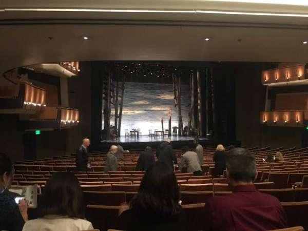 Ahmanson Theatre, secção: Orch, fila: X, lugar: 47